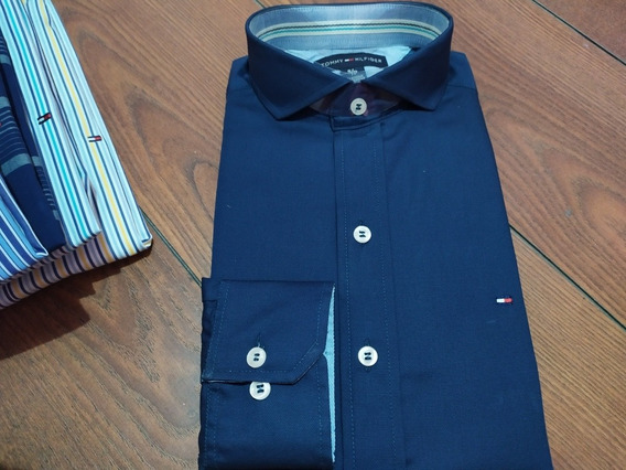 Camisas De Hombre Tommy Polo Custom Fit