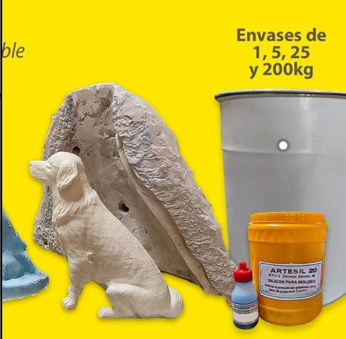 Imagen 1 de 10 de Caucho Silicona (artesil) Para Moldes