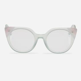 7b9a4060e Oculos De Grau Feminino Gatinho Verde - Óculos no Mercado Livre Brasil