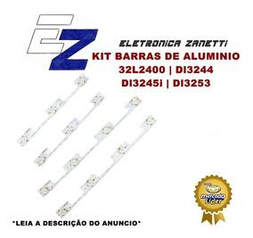 Kit Barras Aluminio - 32l2400 Dl3244 Dl3245i Dl3253 Novas