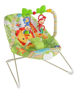 Mecedora Para Bebes - Rainforest Bouncer Vibrador Silla