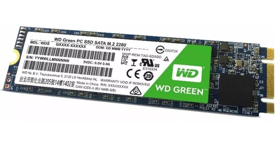 Ssd M.2 M2 Sata 240gb 2280 Wd Green Notebook Pc Hd 2280 Novo