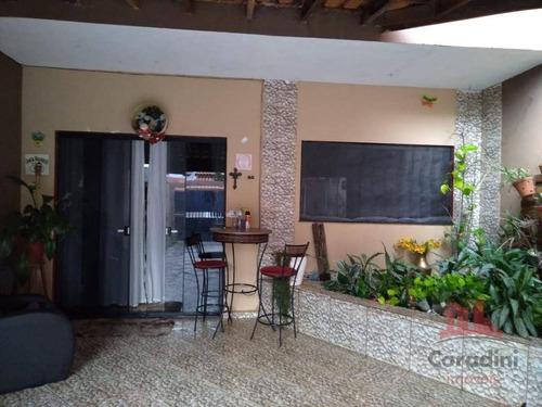 Imagem 1 de 6 de Casa Com 4 Dormitórios À Venda, 188 M² Por R$ 350.000,00 - Parque Nova Carioba - Americana/sp - Ca2844