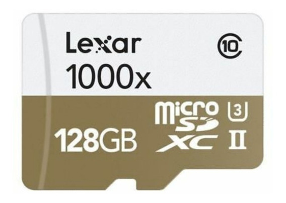 Original 128gb 1000x 150mb/s Uhs-ll Classe 10 + Sd Adapter