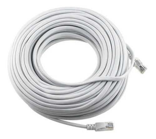 Cable De Red 25m Cat 5e / 25 Metros Categoria 5e