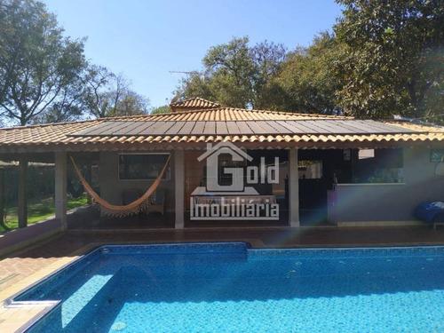 Chácara Com 3 Dormitórios À Venda, 300 M² Por R$ 980.000,00 - Condomínio Portal Dos Ipês - Ribeirão Preto/sp - Ch0021