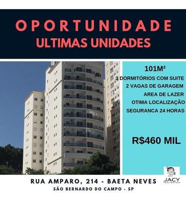 Apartamento Com 3 Quartos Á Venda Em São Bernardo Do Campo