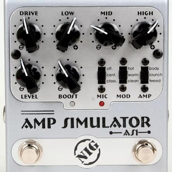 Pedal Nig As1 Amp. Simulator