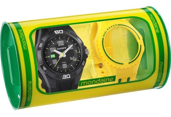 Relógio Masculino 2 Pulseiras Garantia ,nf , Frete Grátis