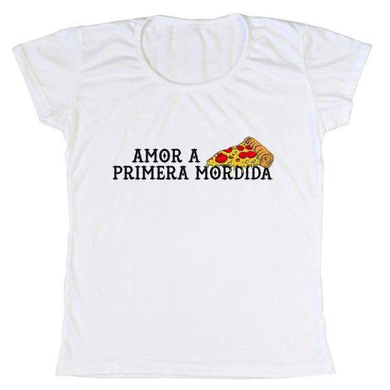Remeras Amor A La Pizza
