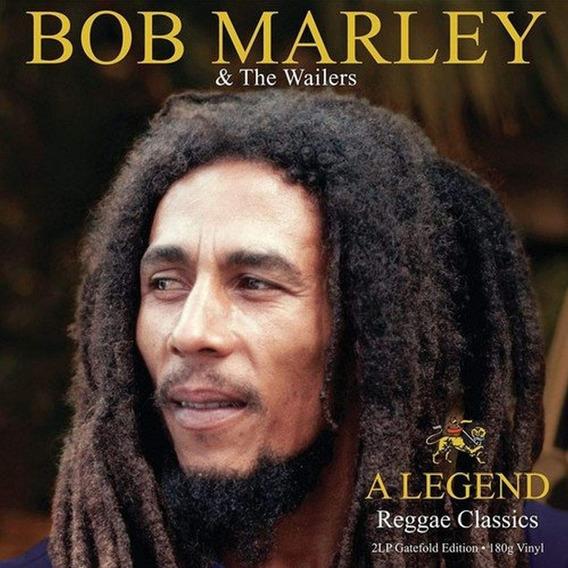 Bob Marley The Wailers Lp Duplo 180gr Colorido Lacrado Imp.
