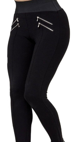Leggings Casuales Holly Land Negros De Mujer