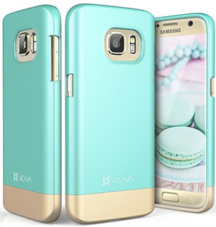 Funda Galaxy S7, Vena [islide] [two-tone] Dock-friendly Slim