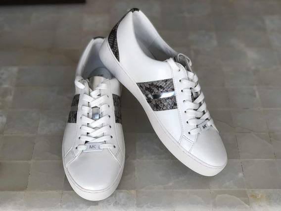 Tenis 5 Mx Michael Kors Flats Mocasín Sneakers