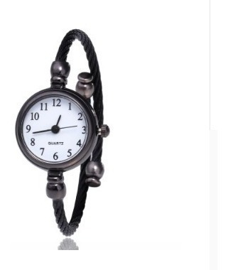 Relógio Bracelete Feminino De Aço Inox Torcido