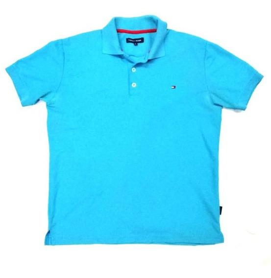 Polo Tommy Hilfiger Talla M Azul Premium Envío Inmediato