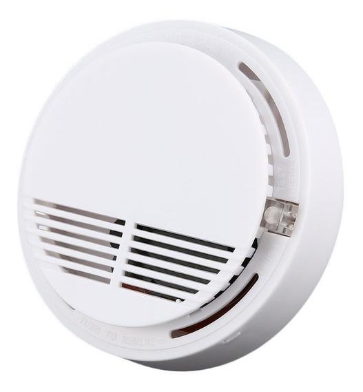 Detector Humo Hogar Alarma Fuego Automatico Led Indicador