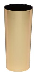 Copo Long Drink Metalizado Dourado 50 Unidades S/personaliza