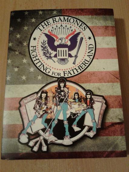 Ramones - Fighting For Fatherland Dvd Raro Importado
