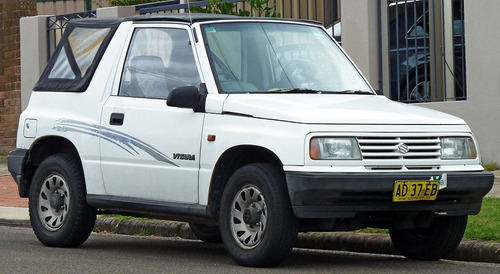 Manual De Taller Suzuki Vitara (1988-1998) Español