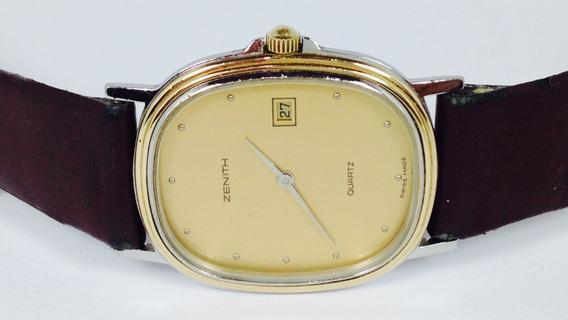 Excelente Reloj Zenith Con Estuche Para Caballero (ref 1866)