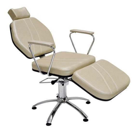 Cadeira Reclinável Maquiagem Sobrancelha Estética - Darus