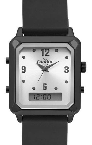 Relógio Condor Feminino Anadigi Quadrado Cobj3718ae/2k