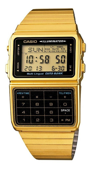 Relógio Casio Vintage Masculino Digital Dbc-611g-1df