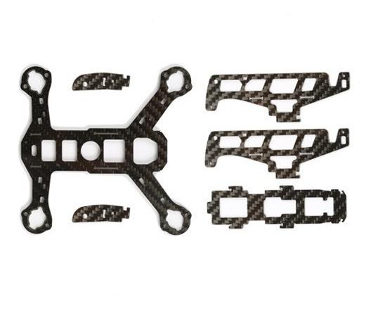 H122d-06 Frame Em Fibra De Carbono Original Hubsan Para