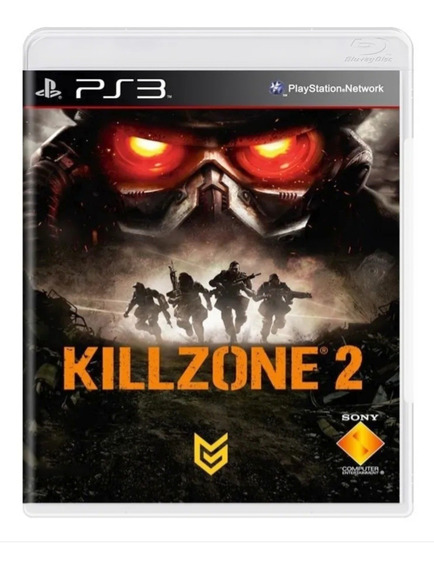 Killzone 2 Ps3 Mídia Física Original