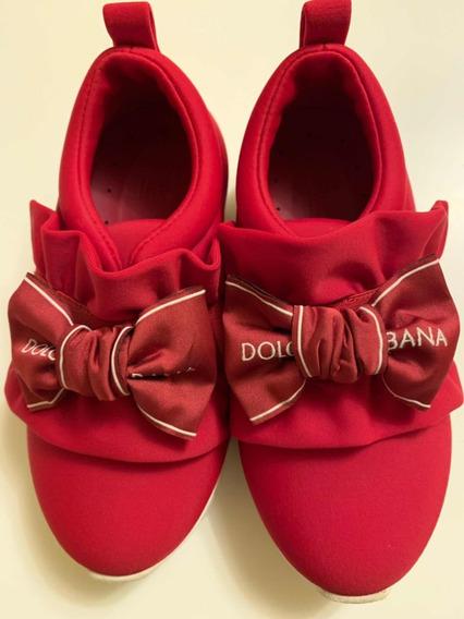 Tênis Infantil Dolci Gabbana