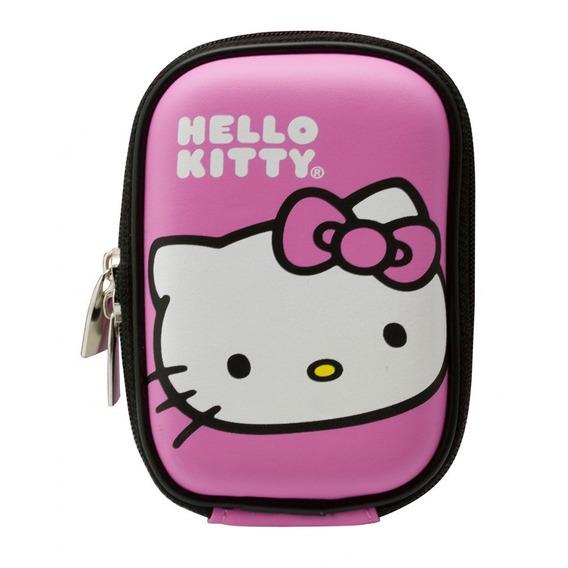 Estojo Hello Kitty P/câmera Compacta Acessórios Sakar Hs5009