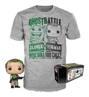 Funko Pop & Tee Collector Box Ghostbusters: Peter Venkman