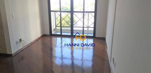 Imagem 1 de 22 de Apartamento Com 3 Dormitórios À Venda, 78 M² Por R$ 631.000,00 - Chácara Inglesa - São Paulo/sp - Ap3462