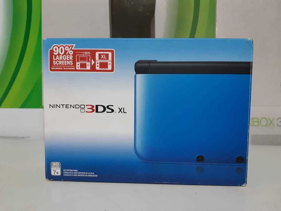 Nintendo 3ds Xl Original Completo
