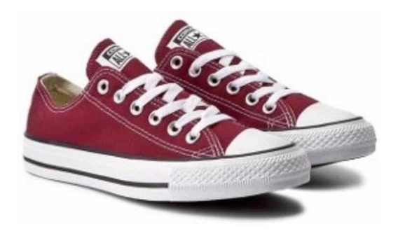 Zapatillas Converse Chuck Taylor Ox 164726c Color Bordo