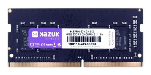 Memória RAM  8GB 1x8GB Kazuk KZRN-D4248G