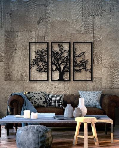 Imagem 1 de 4 de Quadro Decorativo Parede Natureza Árvore Da Vida Gg 1,30m