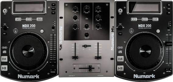 Kit Dj Numark Cd Dj In Box Ndx-200(120v)