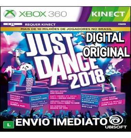 Just Dance 2018 Xbox 360 Digital Original Envio Imediato