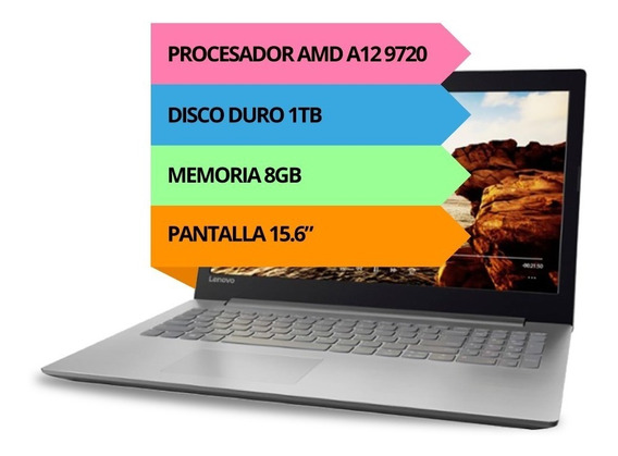 Notebook Lenovo A12 9720p 8gb 1tb 15.6 Windows 10 Dvdrw