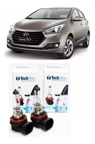 Imagem 1 de 3 de Par Lâmpada Original H8 35w Milha Hyundai Hb20 Hb20s