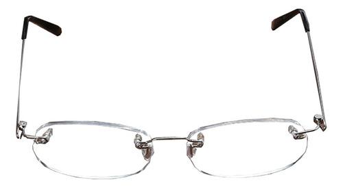 Imagen 1 de 6 de 2piezas Gafas De Lectura Sin Marco Anti-caída Ligero Oval