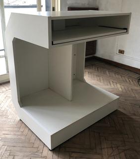 Mostrador Exhibidor Melamina 107cm Ideal Local Oficina Stand