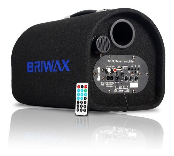 Caixa De Som Canhão 100w Bluetooth Portátil Mp3 Usb Rádio Fm