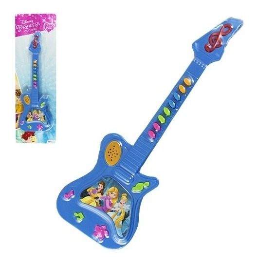 Guitarra Violão Musical Princesas Disney Infantil Criança