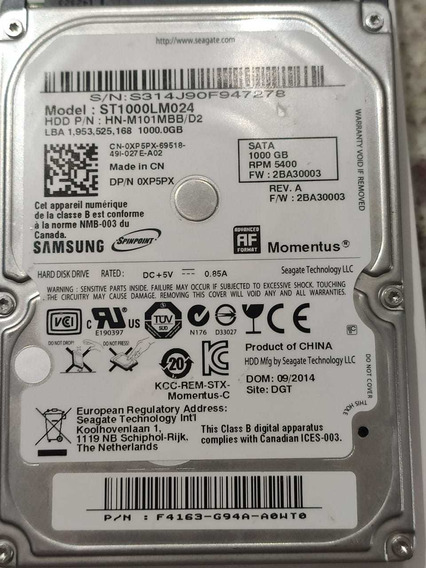 Hd Disco Rígido ,uso Externo Samsung 1tb
