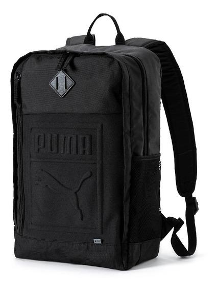 Mochila Unissex Puma S Backpack Preto