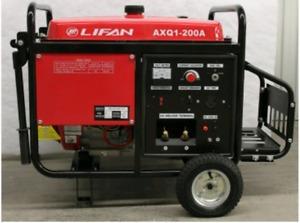 Motosoldadora De 200 Amp 4000 W Lifan A Diesel Axq1-200d