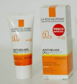 Protetor Facial Anthelios Xl Oil Free Fps 60 Gel Creme 40g
